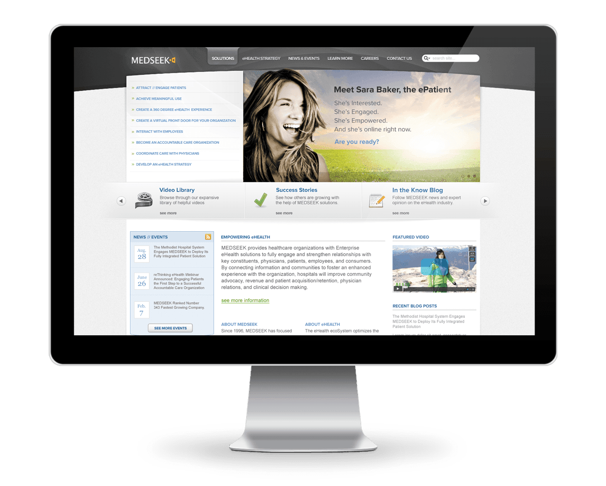 Medseek Web Design